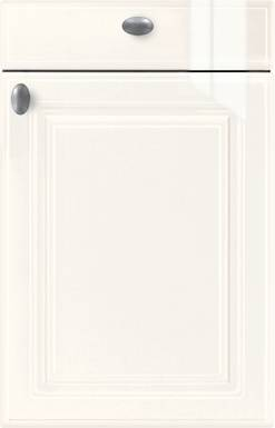 High-gloss White