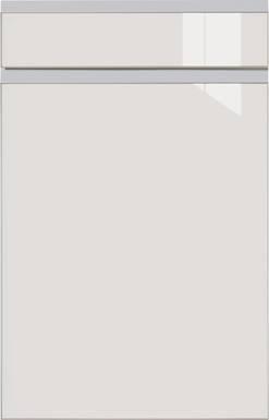 High-gloss Light Grey