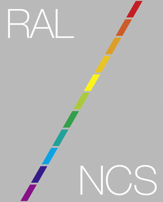 NCS or RAL Colour Textured