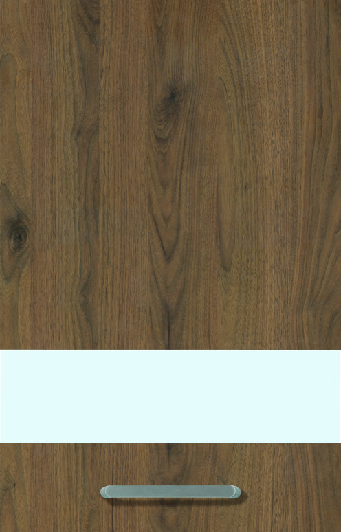 Walnut Effect (End-grained Wood Edge), Vertical