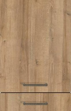 Natural Oak Effect (End-grained Wood Edge), Vertical