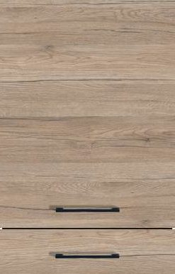Sanremo Oak-Effect (End-grained Wood Edge), Horizontal