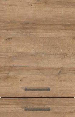 Natural Oak-Effect (End-grained Wood Edge), Horizontal