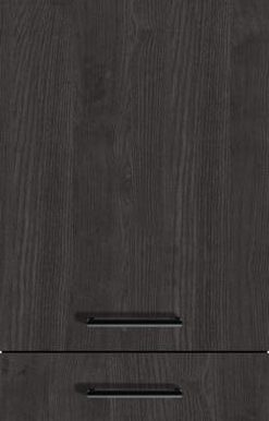 Carbon Oak-Effect (End-grained Wood Edge), Vertical